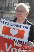 外媒:获比利时国籍的英国人在脱欧公