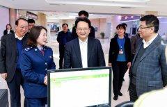 省长景俊海到省政务大厅突击检查工作