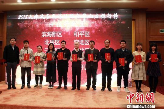 《2018天津政务新媒体综合影响力报告》发布会。 钟欣 摄