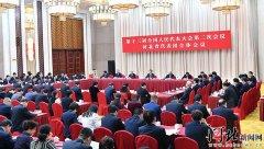 河北省代表团召开全体会议认真传达学