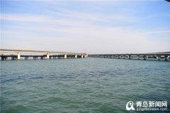 探访跨海大桥胶州接线工程 60%箱梁完成