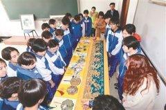 盛京满绣东北育才民族班秀精彩