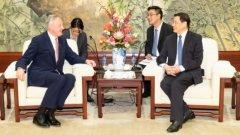 上海市长会见伦敦金融城市长,外方盼