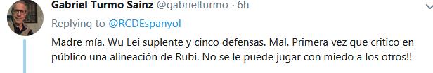 认为鲁比保守