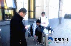 暖!乘客突发疾病 烟台南站紧急救助