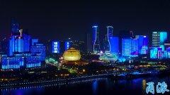 为了宁波这个文化盛会 杭州钱江新城亮