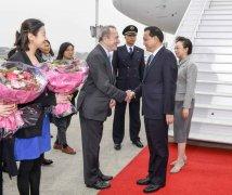 李克强抵达布鲁塞尔与欧盟领导人会晤