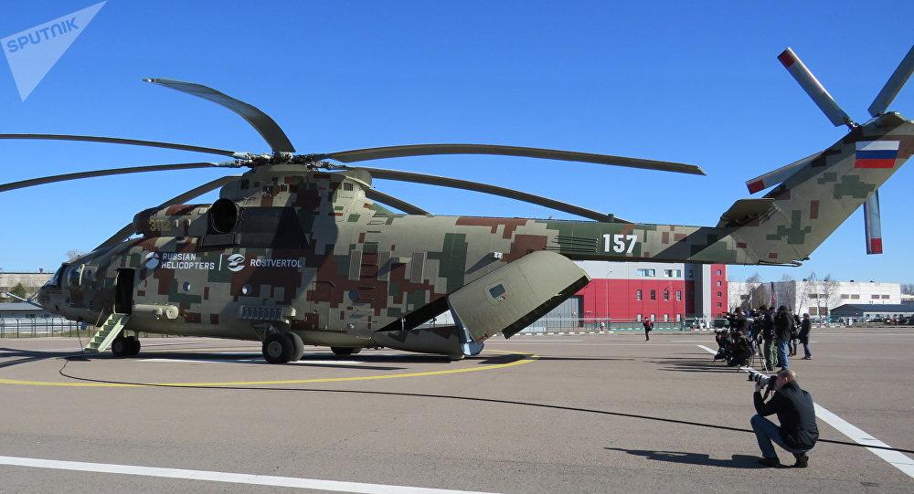最新版米26T2B直升机揭秘:能自动飞行无需操控