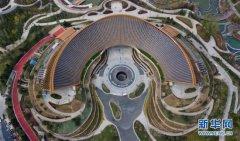 鸟瞰2019北京世园会园区