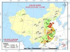 全国主要公路气象预报(4月24日20时至