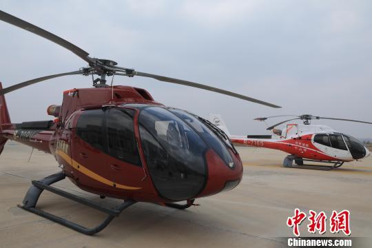 沈阳通用航空产业基地拥有低空飞行综合配套设施。 沈殿成 摄