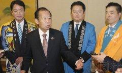 日本自民党干事长二阶在北京参加日本